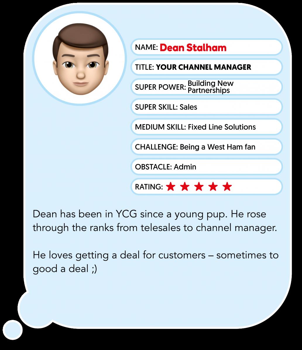 Dean Stalham