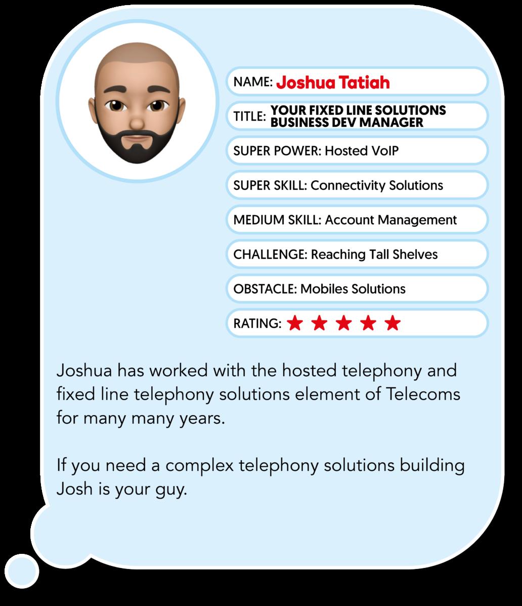 Joshua Tatiah