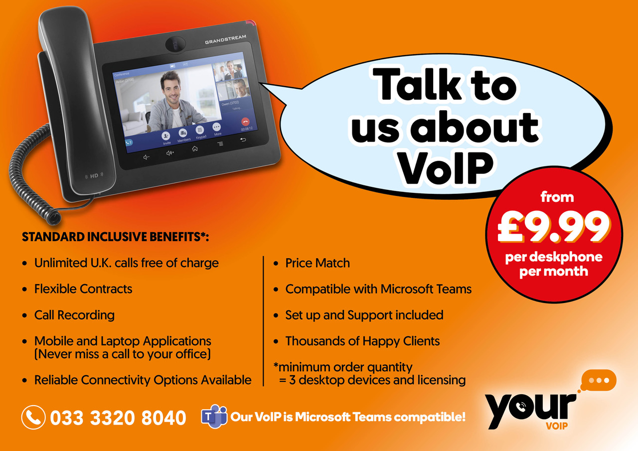 Talk to us about VoIP